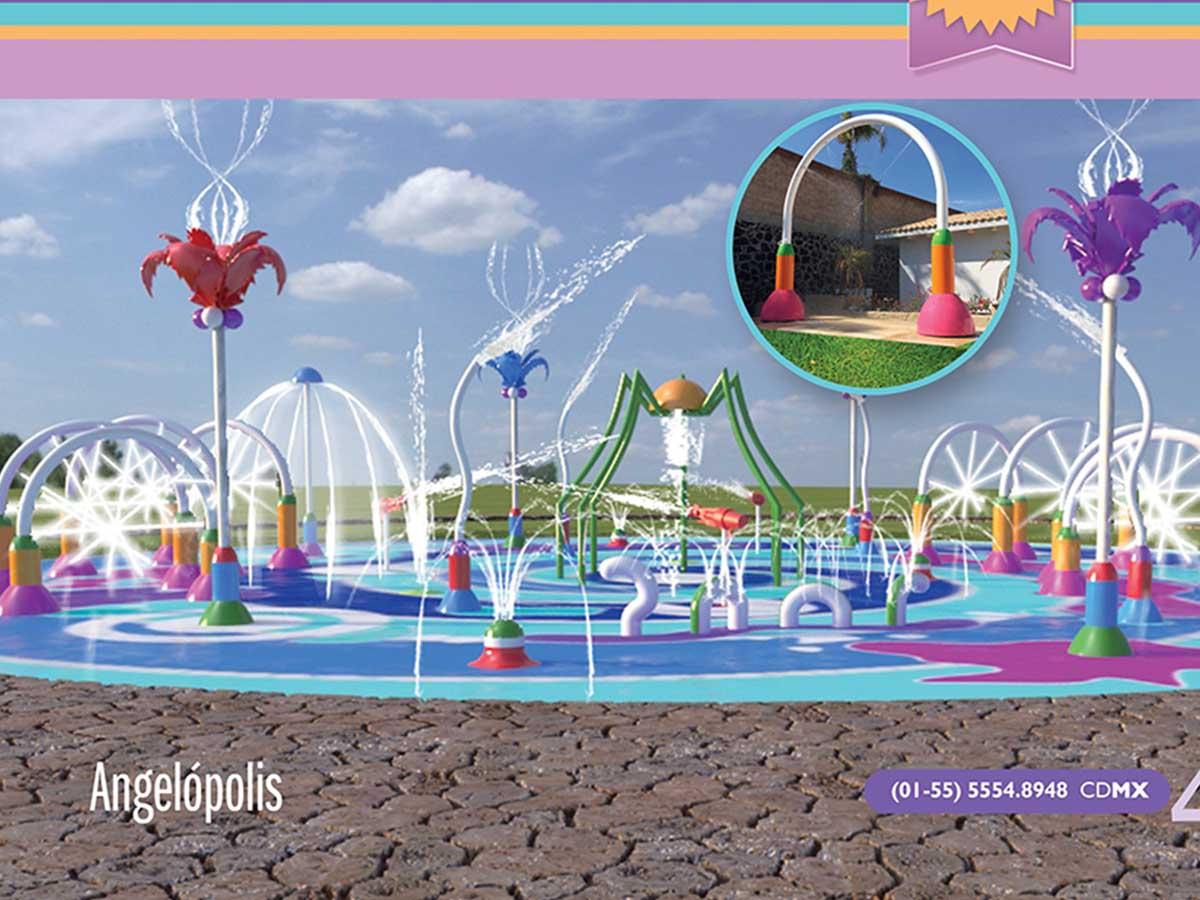 Juegos acu ticos mexico juegos de agua m xico fuentes musicales mexico for Jardin urbano shop telefono